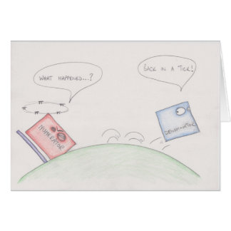 Numerator Vs Denominator Cards