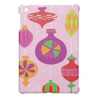 Numerous Christmas decoration illustrated in diffe iPad Mini Covers