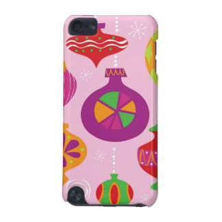 Numerous Christmas decoration illustrated in diffe iPod Touch 5G Case