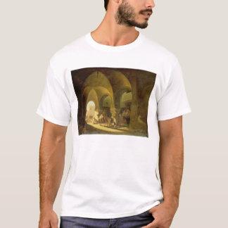 Numerous Figures in a North African Bazaar, 1839 ( T-Shirt