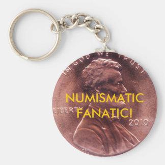 NUMISMATIC FANATIC! Key Chani Key Ring