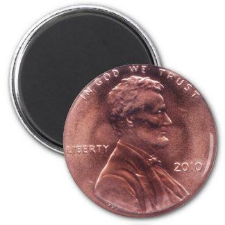 Numismatic Gift 6 Cm Round Magnet