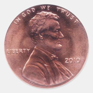 Numismatic Gift Round Sticker