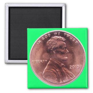 Numismatic Gift Square Magnet