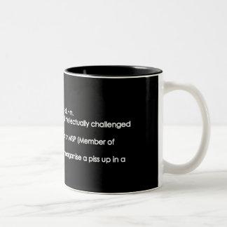 Numpty Two-Tone Coffee Mug