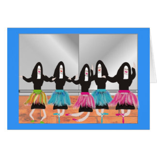 Nun Ballerina Gifts Greeting Card