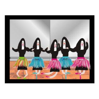 Nun Ballerina Gifts Postcard