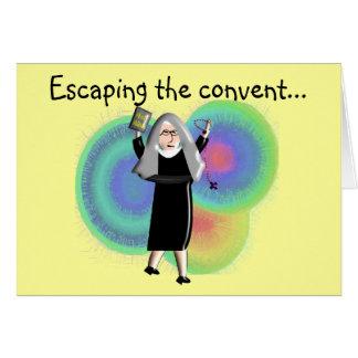 "Nun Cards ""Escaping The Convent"""