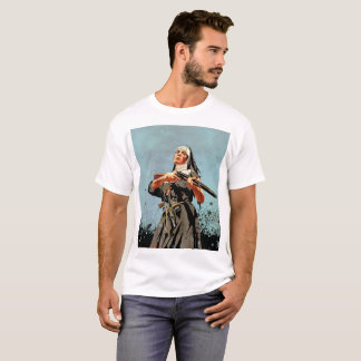 Nun with a rifle T-Shirt