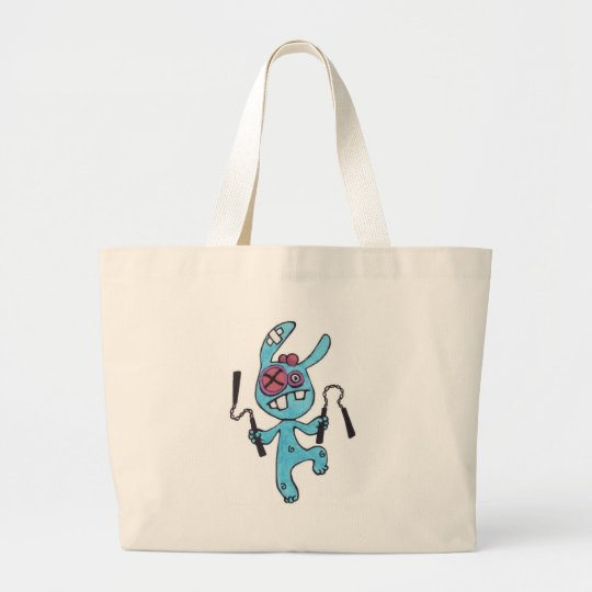 Nunchaku Rabbit Beach Bag