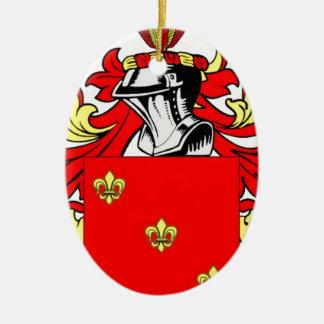 Nunez Coat of Arms Ceramic Oval Decoration