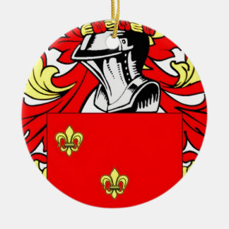Nunez Coat of Arms Ornament