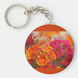 Nuns 50th Jubilee--Floral Design Gifts Key Ring