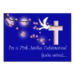 Nuns 75th Jubilee Celebration Invitations 13 Cm X 18 Cm Invitation Card