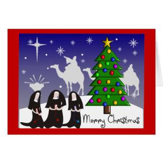 """Nuns Christmas Cards """"Merry Christmas"""""""