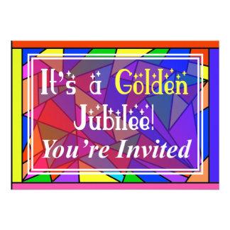 Nuns Golden 50th Jubilee Invitations