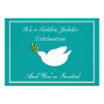 Nuns Golden 50th Jubilee Invitations