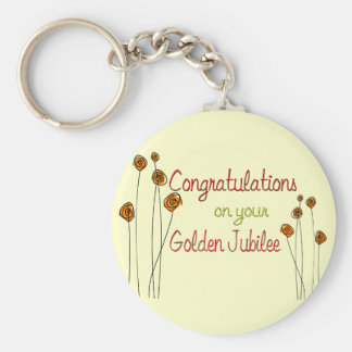 Nuns Golden Jubilee (50th Anniversary) Gifts Basic Round Button Key Ring