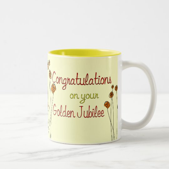 Nuns Golden Jubilee (50th Anniversary) Gifts Two-Tone Coffee