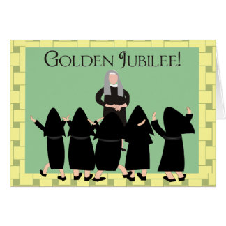 "Nuns ""Golden Jubilee"" Cards & Tote Bags"