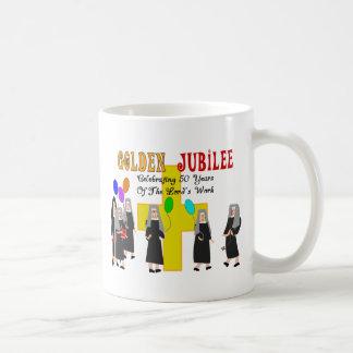 Nuns Golden Jubilee Gifts Basic White Mug
