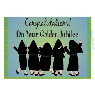Nuns Golden Jubilee Gifts Card