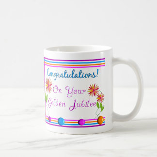 Nuns Golden Jubilee Gifts Classic White Coffee Mug