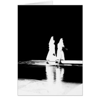 Nuns in Light Card