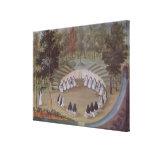 Nuns Meeting in Solitude Gallery Wrap Canvas