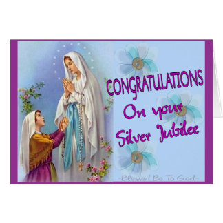 Nuns Silver Jubilee Gifts and Cards