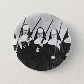 Nuns With Guns 6 Cm Round Badge