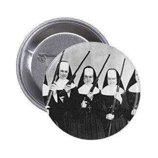 Nuns With Guns Pinback Buttons