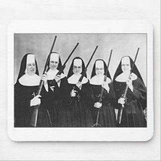 Nuns With Guns Mouse Mat