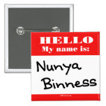 Nunya Binness Badge