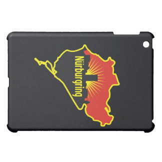 Nurburgring Nordschleife race track, Germany iPad Mini Cases