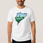 Nurburgring Nordschleife race track, Germany Shirts