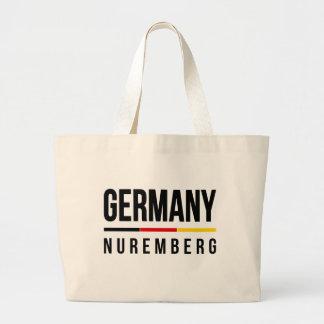 Nuremberg Germany Large Tote Bag