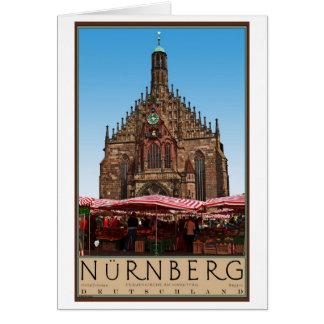 Nürnberg - Frauenkirche Card