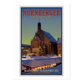 Nürnberg Frauenkirche & the Christkindlmarkt Post Cards