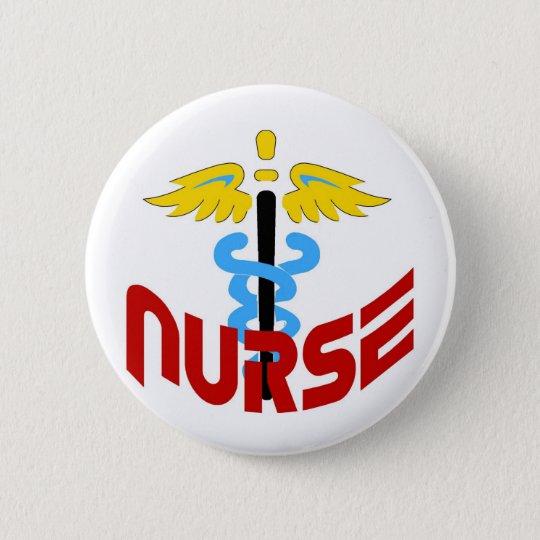 Nurse2 6 Cm Round Badge
