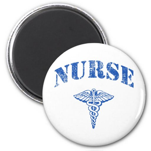 Nurse 6 Cm Round Magnet