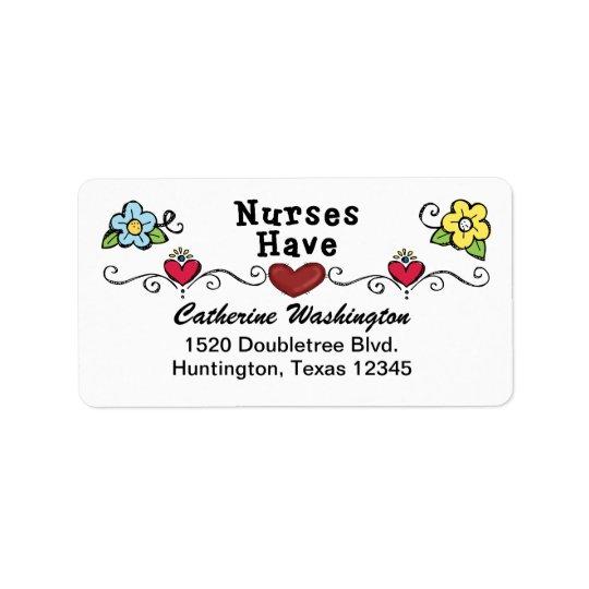 Nurse Address Label - SRF