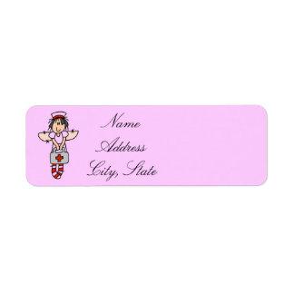 Nurse Address Labels