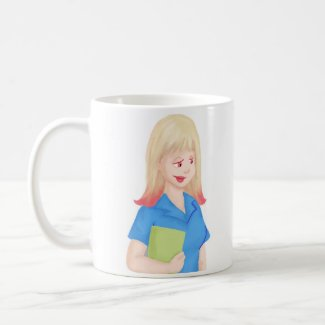 Nurse and Jasmine (From 'The Magical Nurse') Coffee Mug