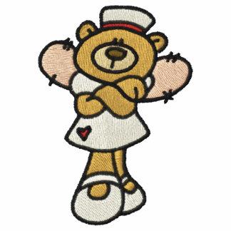 Nurse Angel Embroidered Hoodie