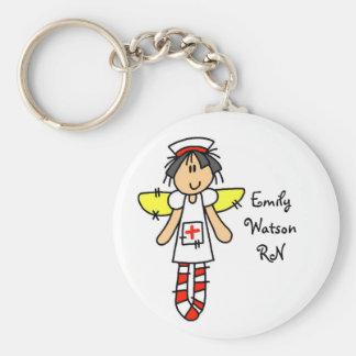 Nurse Angel Key Ring