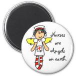 Nurse Angel Refrigerator Magnet