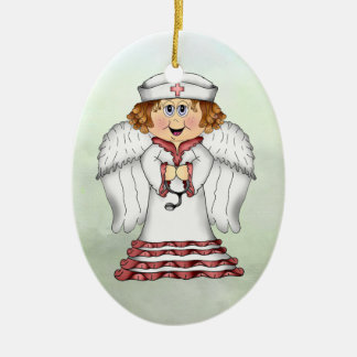 Nurse Angel - SRF Christmas Ornament