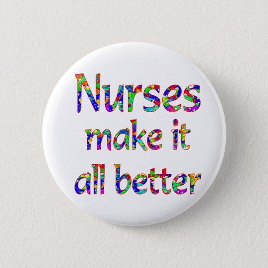 Nurse Appreciation 6 Cm Round Badge