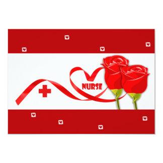 Nurse Appreciation Flat Greeting Cards 13 Cm X 18 Cm Invitation Card